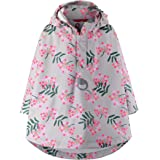 Reima Vesikko Waterproof Rain Jacket Hooded Poncho for Kids