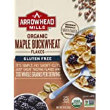 Arrowhead Mills Maple Buckwheat Flakes Organic Cereal, 10 Ounce Box (Pack of 6)
