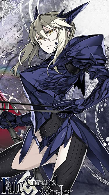 Fate  iPhone/Androidスマホ壁紙(750×1334)-1 - アルトリア・ペンドラゴン 槍オルタ