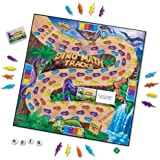 Learning Resources LER0712 Dino Math Tracks Place Value Game,Multi-color