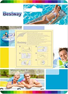 Bestway修理キットfor Inflatable Airbeds、玩具、プール、Lilosなど