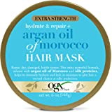 OGX Extra Strength Hydrate & Repair + Argan Oil of Morocco Hair Mask, Deep Moisturizing & Conditioning Treatment, Citrus, 6 o