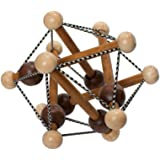 Manhattan Toy 214250 Artful Skwish Rattle and Teether Grasping Activity Toy