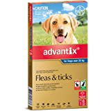 Advantix for Dogs over 25kg, 6 Pack