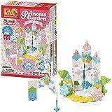 LaQ Sweet Collection PRINCESS GARDEN - 5 Models, 175 Pieces   Princess Castle Model   Japanese Building & Construction Toy fo