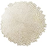 Benson Mills Bloom placemat Bloom Blossom-Gold