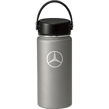 【Mercedes-Benz Collection】 メルセデス・ベンツ × Hydro Flask (ハイドロフラスク) ステンレスボトル 16 oz ワイドマウス グラファイト