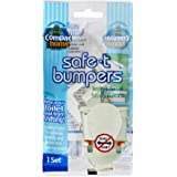 COMPAC HOME Safe-t-Bumpers Toilet stabilizer, 1 Count (Pack of 1)