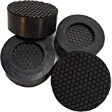 [VibraShield] Anti Vibration Pads with Dual HexaGrip for Washing Machine | Prevents Vibrations, Noise & Walking | Shock Absor