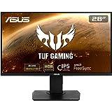 TUF Gaming VG289Q Gaming Monitor 28 inch UHD 4K (3840x2160), IPS, DCI-P3 , Adaptive-Sync, FreeSync, HDR 10