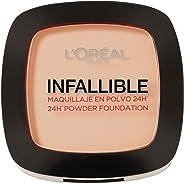 L'Oréal Paris Infallible Compact Powder Foundation 123 Warm Vanilla