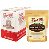 Bob's Red Mill Organic Dark Rye Flour, 20 Ounce (Pack of 4)