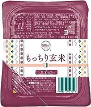 [Amazon限定ブランド] 580.com 国産 もっちり玄米(黒米入り) パックご飯 160g ×12個