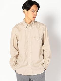 Linen Buttondown Shirt 111-10-0153: Natural