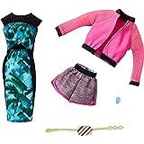 バービー(Barbie) ファッション2パック フラワー・ピンク 【着せ替え人形用ドレス アクセサリー】 GHX63