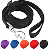 AMAGOOD 1.8M(6 FT) Puppy/Dog Leash, Strong and Durable Traditional Style Leash with Easy to Use Collar Hook,Dog Lead Great fo