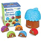 Learning Resources Spike the Fine Motor Hedgehog Sensory Tree House, Amazon Exclusive, Fine Motor Game for Toddlers, Ages 18