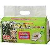 クリーンミュウ 猫のシステムトイレ用ひのきの香りシート 34枚入
