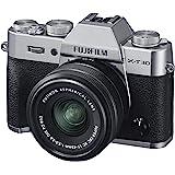 FUJIFILM ミラーレス一眼カメラ X-T30XCレンズキット シルバー X-T30LK-1545-S