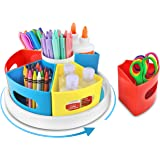 Creative Caddy - 360° Rotating Art Supply Organizer for Kids Desk, School Craft Organizers and Storage, Homeschool and Classr