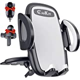 CarKit 2-in-1 Universal Cell Phone Holder for Car Air Vent/CD Slot & Bonus Car Charger Car Phone Holder Mount for iPhone X Xs
