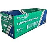 Reynolds Foodservice Clear Plastic Wrap Film, 15 inch Width, 2000 Foot Roll