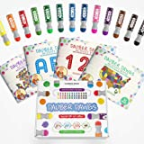 Washable Dot Markers 13 Pack With 121 Activity Sheets For Kids, Gift Set With Toddler Art Activities, Preschool Children Arts