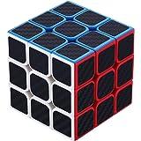 FTZero 競技専用 スピードキューブ 3x3x3 立体パズル 回転スムーズ 炭素繊維 世界基準配色 ver.2.0 グレードアップ版