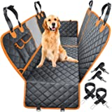 WOWBABEPETS 4-in-1 Convertible Dog Car Seat Cover Waterproof Dog Seat Cover Non-Slip Dog Hammock Scratch-Resistant Pet Seat C