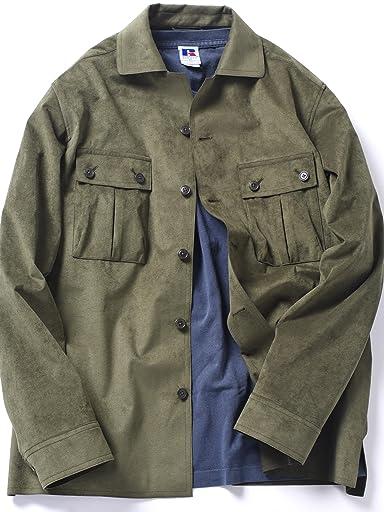 Ultrasuede Safari Jacket 114-00-0051: Olive