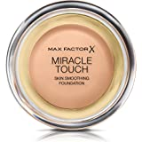 Max Factor Miracle Touch Liquid Illusion Foundation, No.45 Warm Almond, 0.38 Ounce