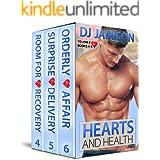 Hearts and Health: Volume 2: Books 4-6 (Hearts and Health Series)