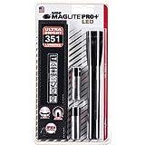 (Black) - Maglite SP+P01H Mini PRO+ LED 2Cell AA Flashlight, Black
