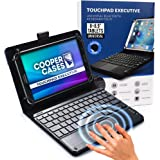 "Cooper Touchpad Executive [Multi-Touch Mouse Keyboard] case for 8-8.9"" Tablets 