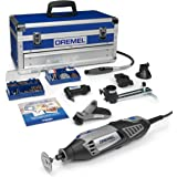 Dremel Platinum Edition 4000 Rotary Tool 175 W, Rotary Multi Tool Kit with 6 Attachments 128 Accessories, Variable Speed 5000
