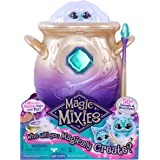 Magic Mixies - Magical Misting Cauldron Blue with Interactive 20cm Blue Plush Toy, 14652