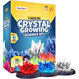 Light-up Crystal Growing Kit for Kids - Grow Your Own Crystals and Make Them Glow : Great Science Experiments Gifts for Kids,