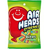 Airheads Xtremes Bites Sweetly Sour Candy Peg Bag, Rainbow Berry, Halloween Candy, Bulk, Non Melting, 3.8 Ounce (Bulk Pack of