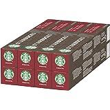 STARBUCKS Single-Origin Sumatra By Nespresso Dark Roast Coffee Capsules, 10 capsules (Pack of 8, Total 80 capsules)