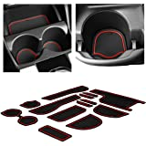 CupHolderHero for Honda Fit 2015-2020 Custom Liner Accessories - Premium Cup Holder, Center Console, and Door Pocket Inserts