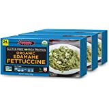Seapoint Farms Organic Edamame Fettuccine, Healthy Gluten-Free Noodles,7.05 oz., 3 Pack