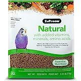 ZuPreem Natural with Added Vitamins, Minerals, Amino Acids Small Bird Food, 2.25 lb