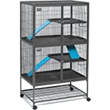 Midwest Deluxe Ferret Nation Add-On Unit Ferret Cage (Model 183) Includes 1 Leak-Proof Pans, 1 Shelf, 1 Ramps w/Ramp Cover. C