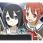 結城友奈は勇者である Android(960×854)待ち受け モニターを見る結城友奈と東郷美森