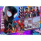 【Hot Toys 】1/6 フィギュア用スパイダーマン:スパイダーバース マイルス セット アクセサリー アクションフィギュア
