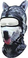 带耳朵的动物图案面膜 D 面膜速干全脸面具 バラクラバ 目出し 帽 / 生存游戏、自行车、摩托车、户外、角色扮演