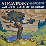 Stravinsky Rite Of Spring Other Works For Two Pianos Four Hands