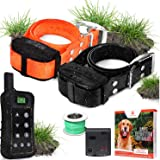 Pet Control HQ Wireless Pet Containment System – Safe, Rechargeable, Waterproof Dog Shock Collar (1 or 2) & Remote Training f