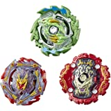 Beyblade Burst Rise Hypersphere Battle Heroes 3-Pack -- Ace Dragon D5, Rudr R5, Viper Hydrax H5 Battling Game Tops, Toys Ages