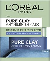 L'Oréal Paris Pure Clay Marine Algae Anti-Blemish Mask 50ml